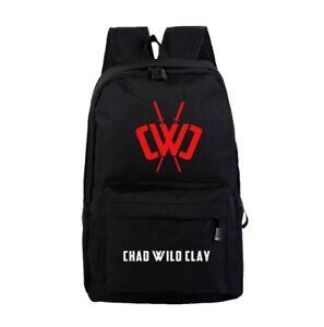 Chad Wild Clay Ninja Backpack Rucksack School GYM PE College Bag Youtube. CWC