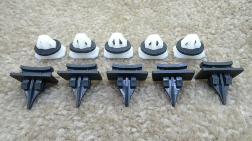 VOLVO FRONT WINDSCREEN LEFT//RIGHT SIDE PILLAR MOULDING TRIM CLIPS 5//5