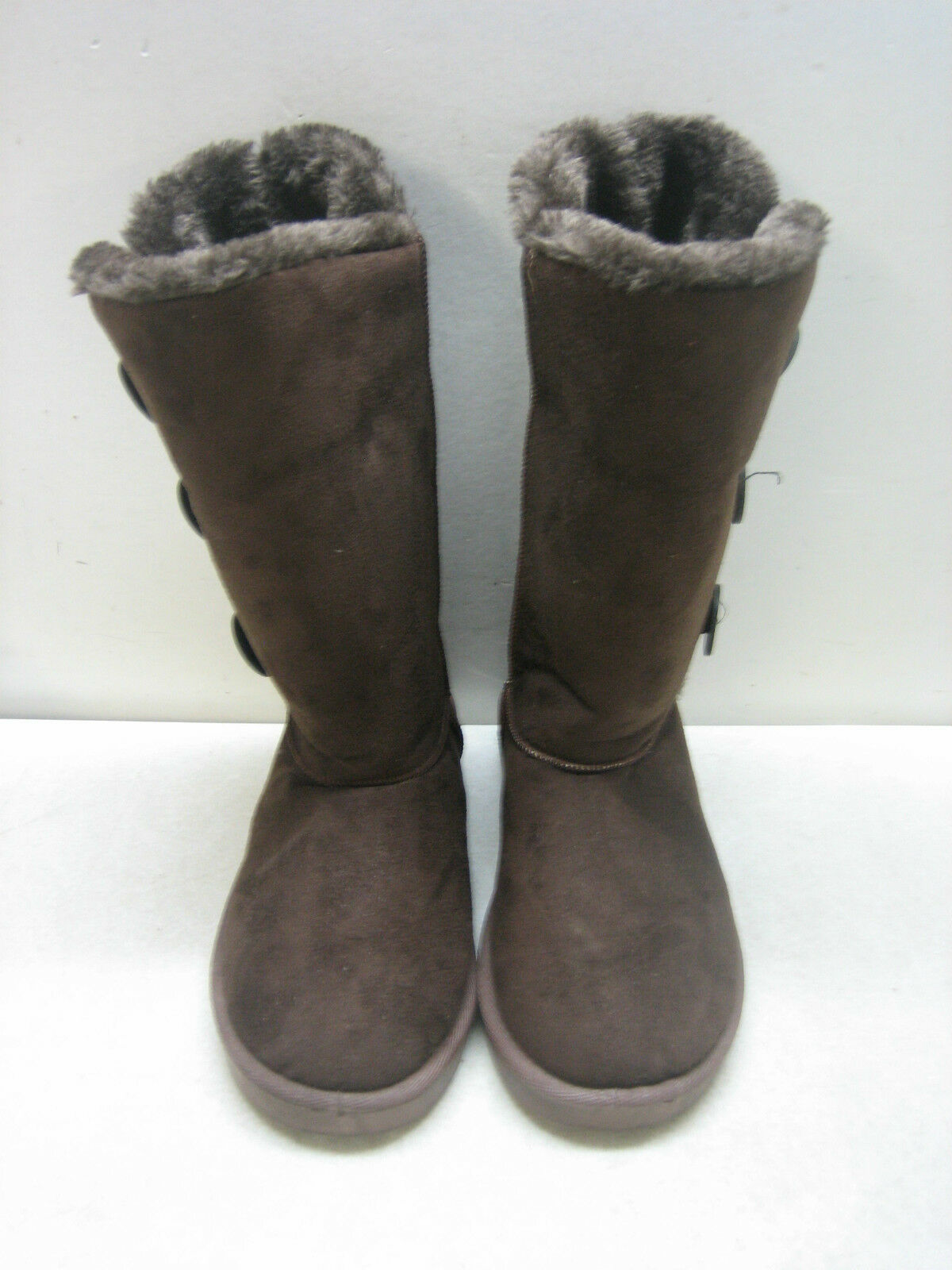 WOMEN'S SHEEPS AUSTRALIA FAUX FUR LINED BOOTS  SIZE 8