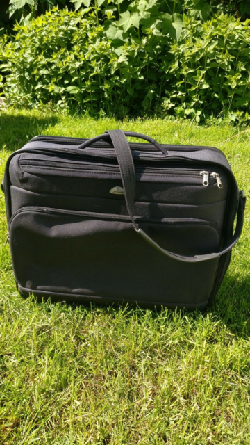 Weekendtaske, Samsonite, b: 48 l: 15 h: 40, God stand,…