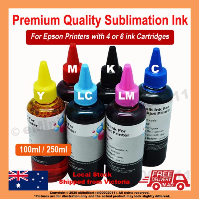 Dye Sublimation Ink for Epson Printer CISS Refill Cartridge Heat Transfer