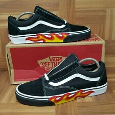 5410e113149  NEW  Vans Old Skool Flame Cut Out (Men s Size 11) Skate Sneakers
