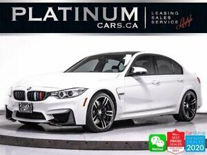 2015 BMW M3 425HP, DRIVERS PKG, HUD, NAV, HEATED,HARMAN/KARDON