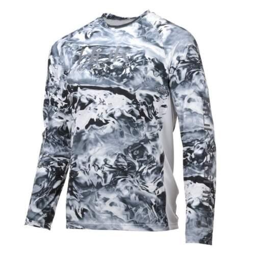 Huk Men/'s Pursuit Camo Vented Raglan Long Sleeve Shirt H1200154
