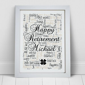 Happy Retirement Print Ladies Gift