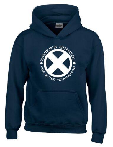 X-men Xaviers School of Gifted Superhero Movie Inspired Mens Hoodie