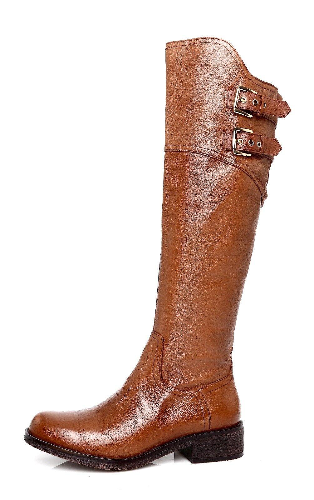 Steve Madden Overt Women's Leather Brown Boot Sz 6 M 4454 *