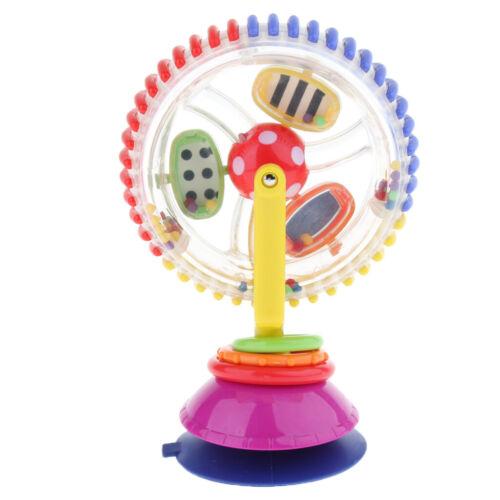 frühes Buntes drehendes Riesenrad Toy Activity Center w Saugfuß