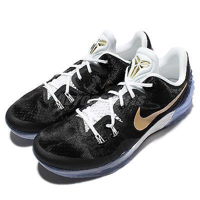 Nike Zoom Kobe Venomenon 5 EP V Bryant Black Gold Mens Basketball 815757-071