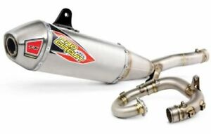 Details about Pro Circuit T-6 Stainless Exhaust Full System For Yamaha YZ  450 F 2018 0131845G