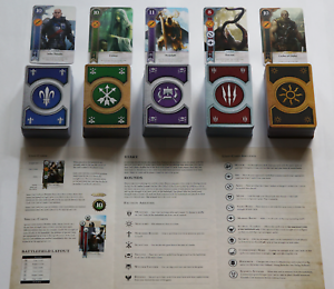 GWINT-GWENT-style-CARDS-5-DECKS-400-CARDS-Witcher-3-FULL-SET-ENGLISH-EDITION