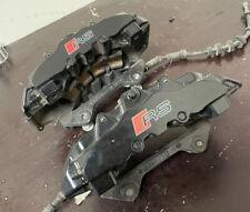 13 14 15 Audi Rs5 Brembo 8 Piston Front Brake Caliper Pair Of 2 Oem 44k Miles