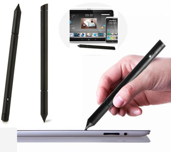 For iPhone iPad Samsung Tablet Phone PC 2in1 Universal Touch Screen Pen Stylus
