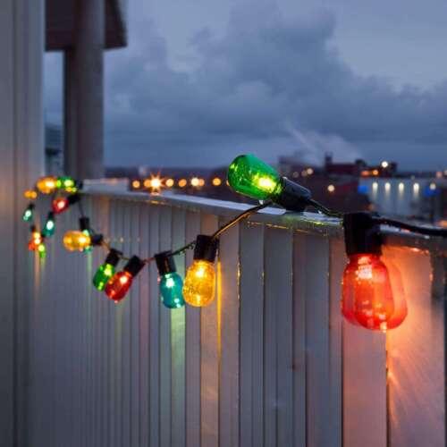 Konstmide Christmas Party-Lichterketten /'Biergarten/' Partylicht Kunststoff A