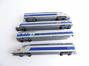 JOUEF-HORNBY-TGV-4-ELEMENTS-N-405