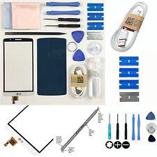 Recambio Blanco Pantalla Táctil Digitalizador Lente Exterior/Kit de Reparación de Vidrio para LG G3