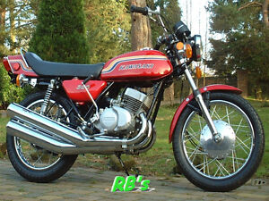 Details about Kawasaki 1972 S2 350 Triple Body decal set - The BEST!