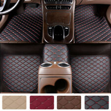 Heavy Duty Leather Floor Mat Front Rear Anti Slip For Car Suv Truck Easy Clean Fits 2012 Toyota Camry