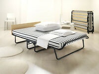 Jay Be Triumph Airflow Folding Double Guest Bed With Breathable Airflow Mattress