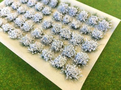 Model Scenery Static Grass Warhammer Railway Garden Large White Flower Tufts