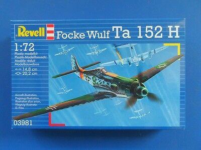 Neu Revell 03981-1//72 Focke Wulf Ta-152H