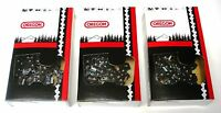 20 Full Chisel Chains (3-pack) For Echo Cs-510evl Cs-550 Cs-590 72lgx070g(3)
