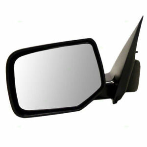 2008-2012 Ford Escape Mercury Mariner Driver Left Side Mirror Non Heated Glass