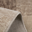 Short fur Rug Modern Living Room Beige Braun Cream Check tile
