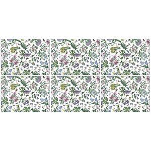 Détails sur Pimpernel Botanic Garden Chintz napperons, Set de 6 Ronds de  Table Dîner Vaisselle- afficher le titre d\'origine