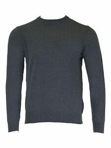 GANT-Men-039-s-Marine-Melange-O1-Donegal-Crew-Sweater-86551-Size-Medium-NWT
