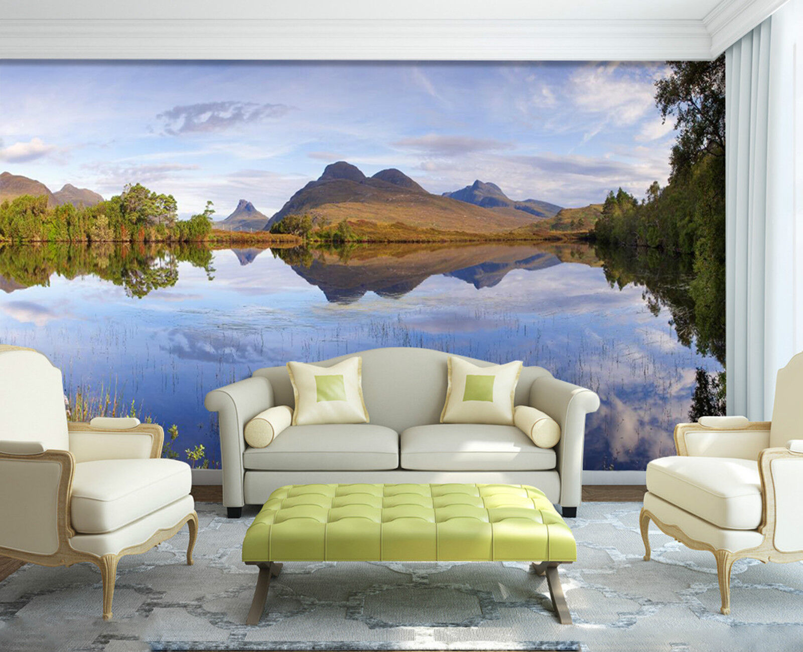 3D Im Herbst355 Fototapeten Wandbild Fototapete Bild Tapete Familie Kinder DE