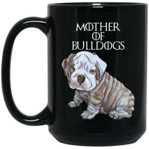 Image Is Loading English Bulldog Mug Mother Of Bulldogs Black Coffee