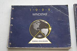 1999 Ford Service Wiring Vacuum Manual Windstar   eBay