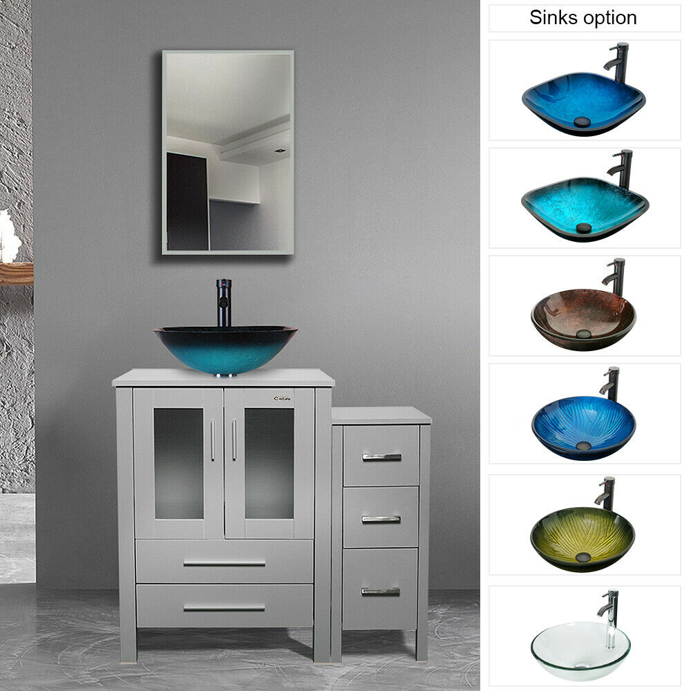Modern Bathroom Vanity Set Fermo 41 For Sale Online Ebay