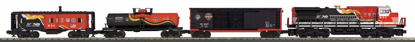 MTH 30-4239-1 o calibre Railking Dash - 8 Diesel R-T-R Conjunto de tren de carga con proto-S