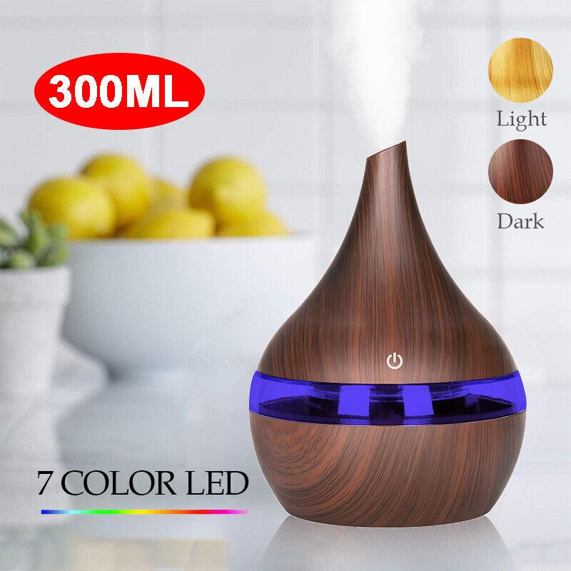 300ml USB Electric Aroma air Essential oil diffuser Ultrason