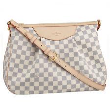 Louis Vuitton Bag LV Damier Azure Siracusa MM Shoulder Bag N41112