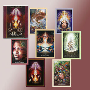 SACRED-REBELS-ORACLE-DECK-amp-GUIDEBOOK-ALANA-FAIRCHILD-Divination-034-Tarot-034-NEW