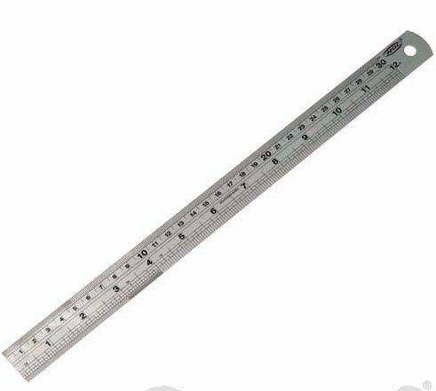 Silverline MT69 Steel Rule 900mm