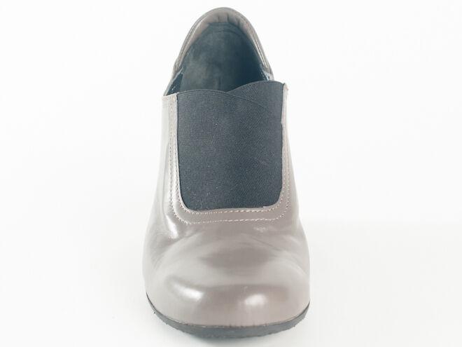 Nuevo Baldinini gris Cuero Cuero Cuero Hecho en Italia Zapatos Talla 38 EE. UU. 8 b2d78f