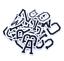 Patch-Toppa-Alfabeto-Lettere-Alphabet-Personalizzate-Ricamata-Termoadesiva-5cm Indexbild 2