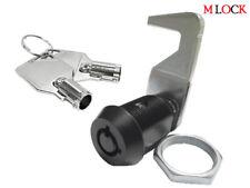 Black Homak Tool Box Lock 58 Tubular Cam Lock Hook Cam 90 Degree As