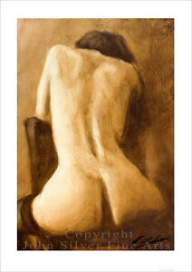 Erotic art female nude prints