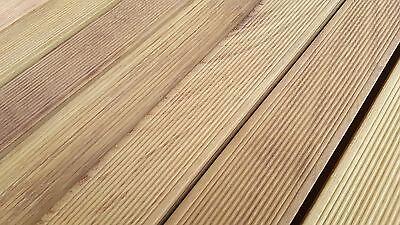 Pavimento in legno da esterno Decking Iroko mm 20x90