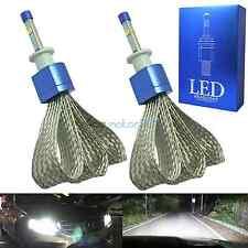 2x H1 LED Headlight Kit Cree XHP50 80W 9600LM 6000K HID White High/Low Beam Bulb