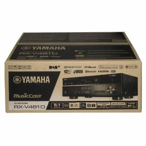 yamaha rx v481d dab schwarz 5 1 av receiver 4k dlna. Black Bedroom Furniture Sets. Home Design Ideas
