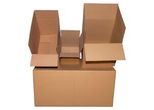500x500x500 mm SCHACHTELN Karton Faltkarton 2-wellig NEU MENGE Wählbar