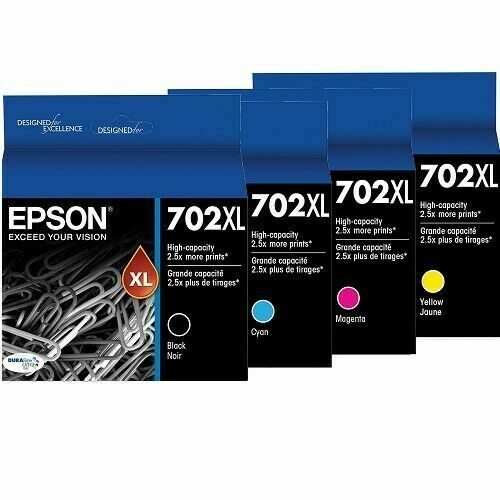 Epson 702 or XL Ink Cartridges for Workforce Pro Express Delivery frankyd360