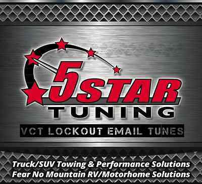 Ford 4.6L//5.4L CNC Billet Aluminum 3-Valve Cam Phaser Lock Out Email Tune SCT