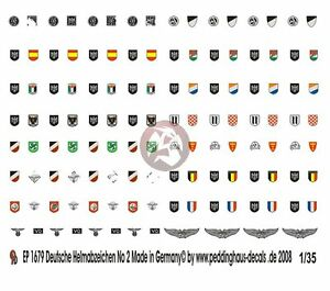 Cuff Titles for Party Units WWII 1474 Peddinghaus 1//35 German Various Armbands
